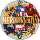 Pog n°16 - Heroes/Villains - Marvel Heroes - Global Pog Association (GPA)