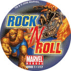 Pog n°17 - Rock 'N Roll - Marvel Heroes - Global Pog Association (GPA)