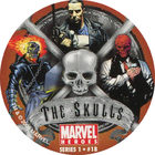 Pog n°18 - The Skulls - Marvel Heroes - Global Pog Association (GPA)