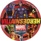Pog n°19 - Villains/Heroes - Marvel Heroes - Global Pog Association (GPA)