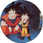 Pog n°68 - Sangoku, Sangoten & C-18 - Dragon Ball Z - Caps - Panini