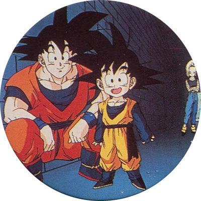 Pog n° - Dragon Ball Z - Caps - Panini