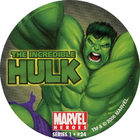 Pog n°24 - Hulk - Marvel Heroes - Global Pog Association (GPA)