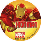 Pog n°26 - Iron Man (flying) - Marvel Heroes - Global Pog Association (GPA)