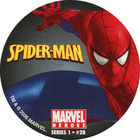Pog n°28 - Spider-Man (crouching) - Marvel Heroes - Global Pog Association (GPA)