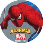 Pog n°29 - Spider-Man - Marvel Heroes - Global Pog Association (GPA)
