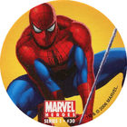 Pog n°30 - Spider-Man (swinging) - Marvel Heroes - Global Pog Association (GPA)