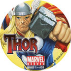 Pog n°35 - Thor - Marvel Heroes - Global Pog Association (GPA)