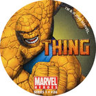 Pog n°36 - Thing (running) - Marvel Heroes - Global Pog Association (GPA)