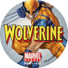 Pog n°38 - Wolverine - Marvel Heroes - Global Pog Association (GPA)