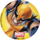 Pog n°39 - Wolverine (leaping) - Marvel Heroes - Global Pog Association (GPA)