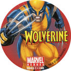 Pog n°40 - Wolverine (running) - Marvel Heroes - Global Pog Association (GPA)