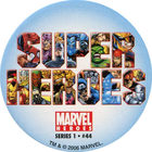 Pog n°44 - Super Heroes - Marvel Heroes - Global Pog Association (GPA)