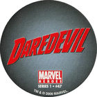 Pog n°47 - Daredevil (logo) - Marvel Heroes - Global Pog Association (GPA)