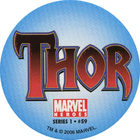 Pog n°59 - Thor (logo) - Marvel Heroes - Global Pog Association (GPA)