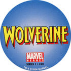 Pog n°60 - Wolverine (logo) - Marvel Heroes - Global Pog Association (GPA)