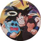 Pog n°77 - Sangoku, Kaio & Bubbles - Dragon Ball Z - Caps - Panini