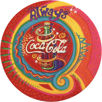 Pog n° - Coca Cola - World Pog Federation (WPF)