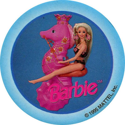 Pog n° - Barbie - World Pog Federation (WPF)