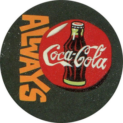 Pog n° - Coca Cola - World Pog Federation (WPF)