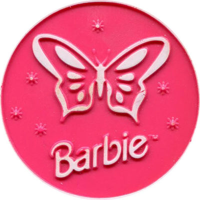 Pog n° - Barbie - Slammers - World Pog Federation (WPF)