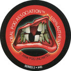 Pog n°45 - Billy bob - Series #2 - Global Pog Association (GPA)