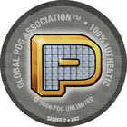 Pog n°47 - P-bling - Series #2 - Global Pog Association (GPA)