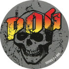Pog n°58 - Gray skull - Series #2 - Global Pog Association (GPA)