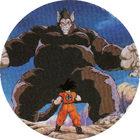 Pog n°2 - Sangoku & Vegeta en singe géant - Dragon Ball Z - Caps Série 2 - Panini