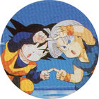 Pog n°4 - Sangoten & Trunks - Dragon Ball Z - Caps Série 2 - Panini