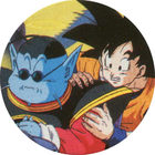 Pog n°12 - Maître Kaio & Sangoku - Dragon Ball Z - Caps Série 2 - Panini