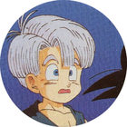 Pog n°40 - Trunks - Dragon Ball Z - Caps Série 2 - Panini