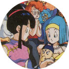 Pog n°65 - Chichi, Bulma & Trunks - Dragon Ball Z - Caps Série 2 - Panini