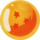 Pog n°76 - Boule de cristal à trois étoiles - Dragon Ball Z - Caps Série 2 - Panini