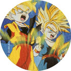 Pog n°90 - Sangoten & Trunks - Dragon Ball Z - Caps Série 2 - Panini