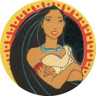 Pog n°1 - Pocahontas 1 - Pocahontas - Caps Série Chambourcy - Panini