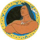 Pog n°3 - Kocoum le guerrier - Pocahontas - Caps Série Chambourcy - Panini