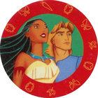 Pog n°4 - John et Pocahontas - Pocahontas - Caps Série Chambourcy - Panini