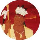 Pog n°7 - Powhatan - Pocahontas - Caps Série Chambourcy - Panini