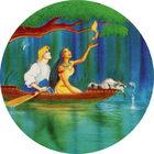 Pog n°8 - Canoë sur la rivière - Pocahontas - Caps Série Chambourcy - Panini