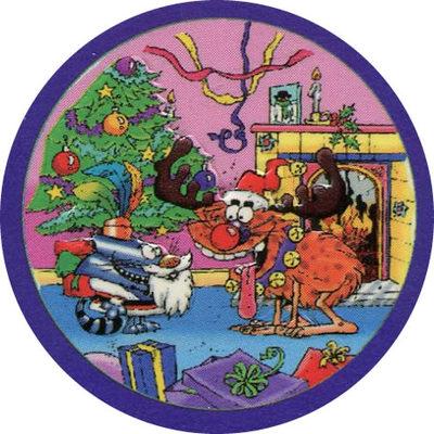 Pog n° - Christmas Chaos - World Pog Federation (WPF)