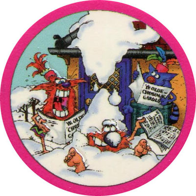 Pog n° - Christmas Chaos - World Pog Federation (WPF)