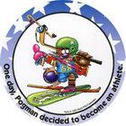 Pog n°2 - Athlete - Pogman Thinks Big - World Pog Federation (WPF)