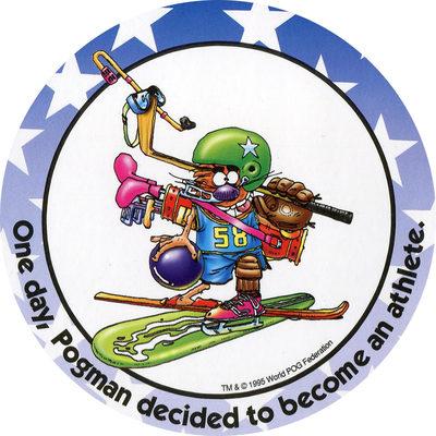 Pog n° - Pogman Thinks Big - World Pog Federation (WPF)