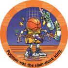 Pog n°4 - Basket-ball - Pogman Thinks Big - World Pog Federation (WPF)