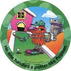 Pog n°7 - Golf - Pogman Thinks Big - World Pog Federation (WPF)