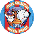Pog n°6 - Just Chill'in with POG - Walmart - Icee - World Pog Federation (WPF)