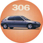 Pog n°3 - Peugeot 306 - Peugeot - World Pog Federation (WPF)