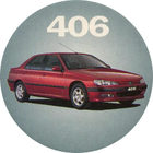 Pog n°4 - Peugeot 406 - Peugeot - World Pog Federation (WPF)