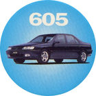 Pog n°5 - Peugeot 605 - Peugeot - World Pog Federation (WPF)